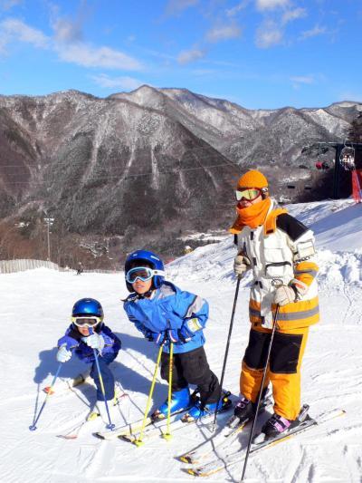 02.カムイみさかスキー場 午前中いっぱいスキーやソリを楽しみました