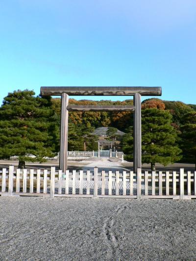 日本の旅 関西を歩く 京都、明治天皇陵周辺