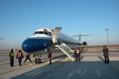 北京奮闘記273~新しいルートで帰国?瀋陽からフライト。これでも国際空港?