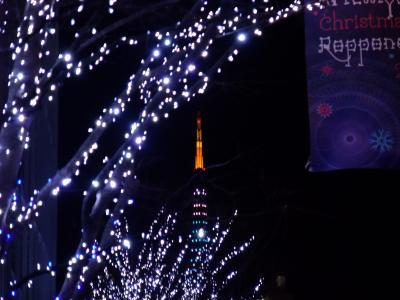 六本木のクリスマスイルミネーション2008