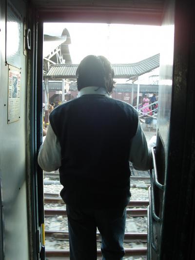 2008−2009 初インド・ネパール旅行 (2)列車に乗ってバラナシへ