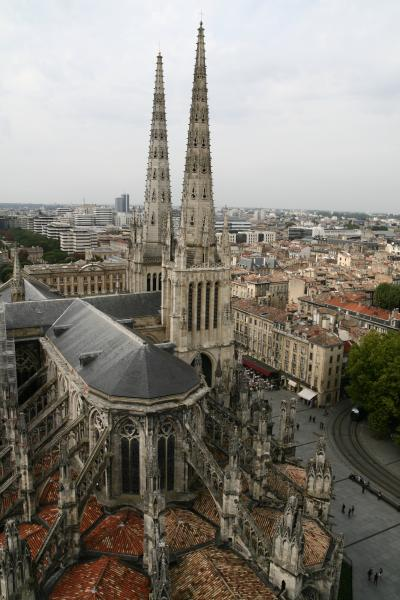 走れイワン in France その八 かけあしで見るボルドー市街