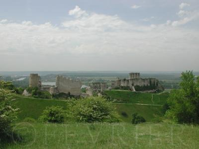 Les Andelys レザンドリー 旅行記 ガイヤール城