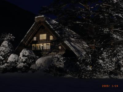 冬の白川郷と五箇山