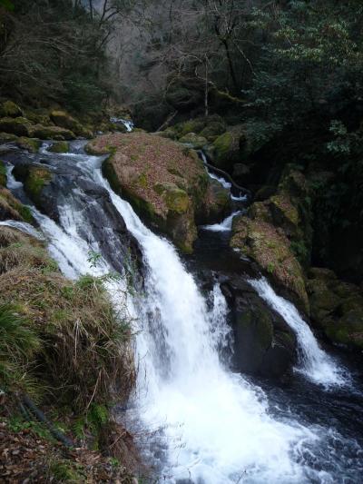 菊池渓谷の滝群(往路)◆2008最後の旅行は九州の滝めぐり【その19】