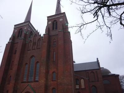 年末年始オランダ&デンマーク6日間? 嵐のロスキレ大聖堂