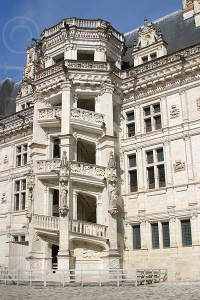 Blois ブロワ城 ロワールの古城巡り 2005