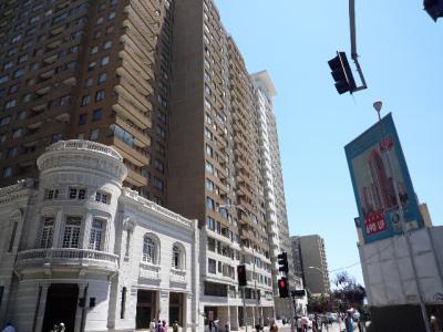 久々の大都会 問題のサンチアゴ