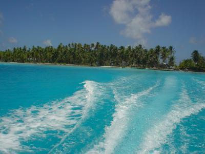 クック諸島 北方諸島 マニヒキ環礁訪問