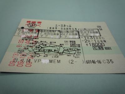 2009初旅行 土日きっぷ(JR東日本)でプチ旅行 【おまけ編】