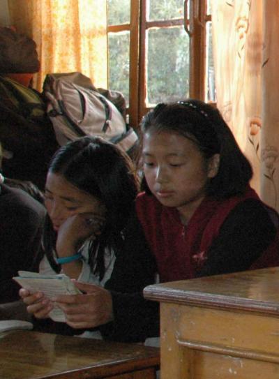 2008ダラムサラ紀行?チベット子供村ホームの子供たち