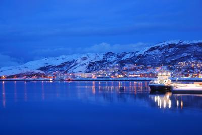 オーロラを求めて 沿岸急行船の旅(6)~乗船4日目 北極圏通過の儀式+ボードーに寄港