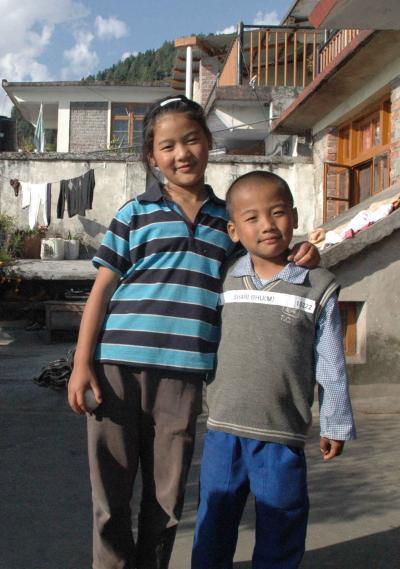 2008年ダラムサラ紀行(6)ホーム2の子供