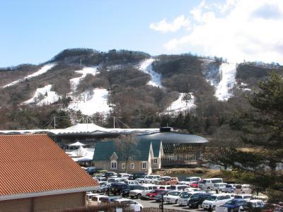 軽井沢散策と(旧)軽井沢駅舎記念館 ~2009年1月~