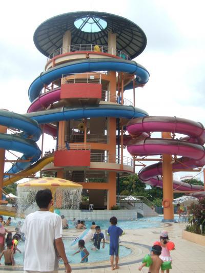シンガポールの楽しいプール~ジュロン・スイミングコンプレックス