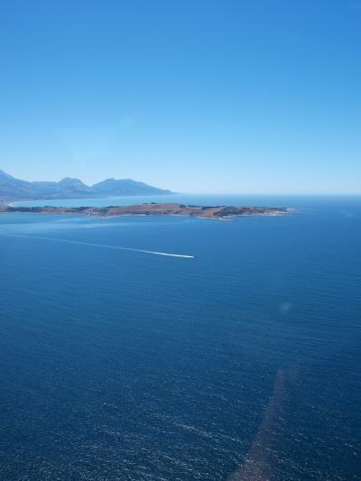 NZ東海岸エコツーリズムの旅14/19 ~青い空に抱かれカイコウラの海に浮かぶクジラに・・