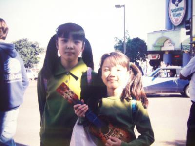 1997 娘達の冬休み 3  国境の町 メキシコ ティファナ