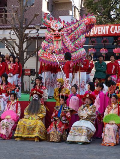 横浜 中華街 春節イベントN02 (中国文化の縮図を見た)