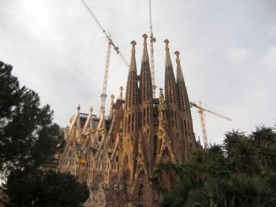 初めてバルセロナに行ってきました~♪