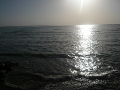 初めての地中海スイミング☆