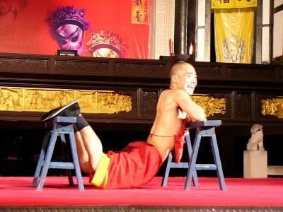2004夏 武侯祠で川劇を観る