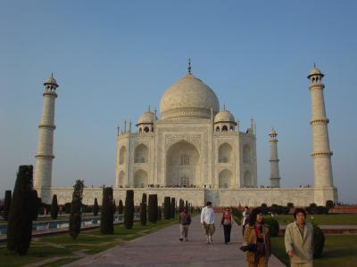 初めてのインド旅行?