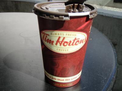 【カナダ・バンクーバー】エア・カナダ航空で行く1泊2日、コーヒーチェーン店 Tim Hortons 堪能の旅