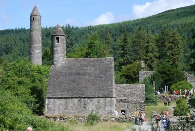 ダブリンと南アイルランドの旅 【7】 グレンダーロッホ (Glendalough)