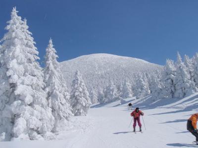 2009 初スキー in 蔵王