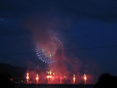 【第60回】諏訪湖祭湖上花火大会