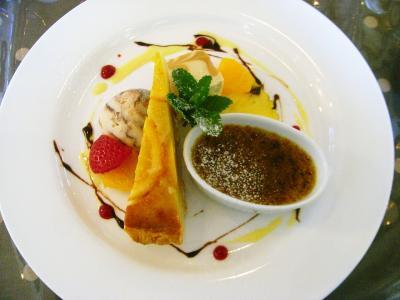 イタリアンカフェ 『 Stagione 』 のお得なランチ と 『 守山玻璃絵館 』