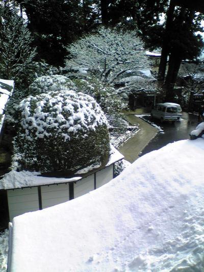 雪の高尾山
