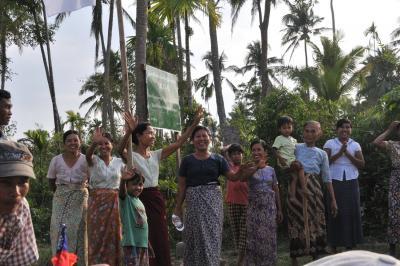 ミャンマーへ行こう 6 被災地訪問