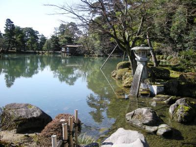 2009年2月 初めての金沢で海の幸と素敵な景色を堪能 ~ 2日目Part1は兼六園