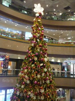 台湾・シンガポール旅行?クリスマスイルミネーションと観覧車