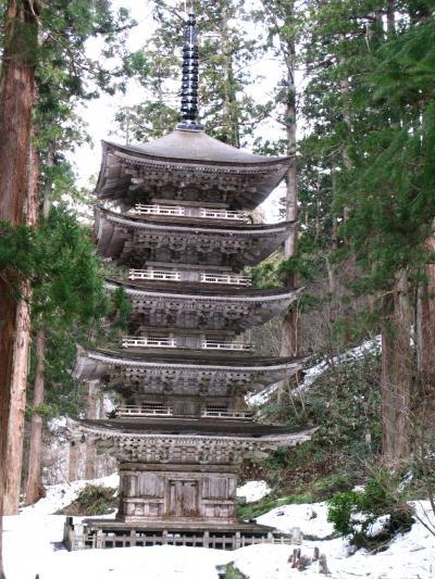 2009.3羽後本荘出張旅行5-羽黒山