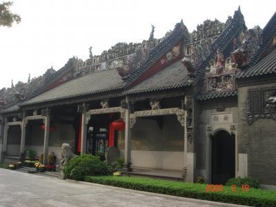 中国・小桂林の旅(1)~乗り継ぎの合間に広州散策
