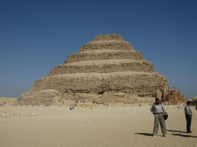 旅記録海外編2009 エジプト〔19−サッカラ・ジュセル王のピラミッド編〕
