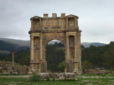 古代ローマ遺跡世界遺産の「ジェミラ」を訪れる