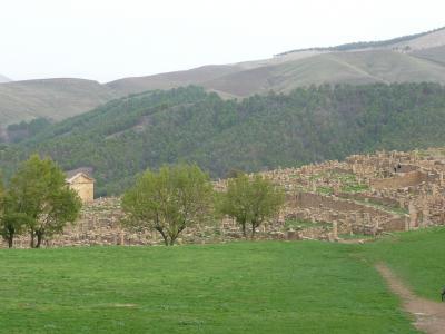 アルジェリア世界遺産の旅ージェミラ遺跡