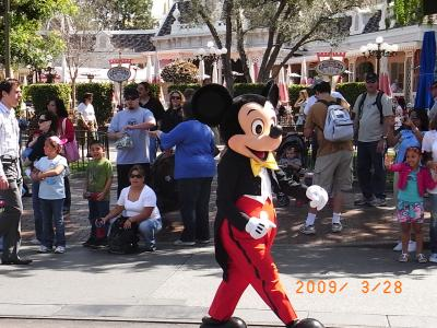 ディズニーランドCA2009
