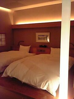 客室露天風呂付き部屋in磐梯熱海
