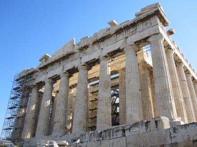 アテネ!2(ギリシャ2日目アクロポリス)