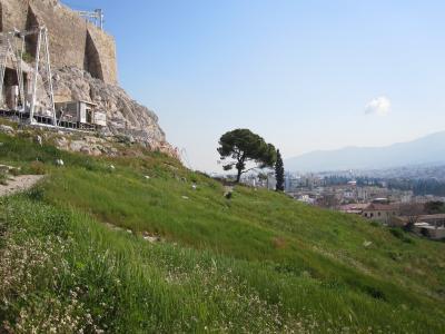 アテネ!3(ギリシャ2日目アクロポリスからの帰り道)