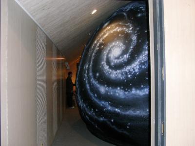 2009.4 くにたち郷土文化館 エアドームプラネタリウムと天文講演会