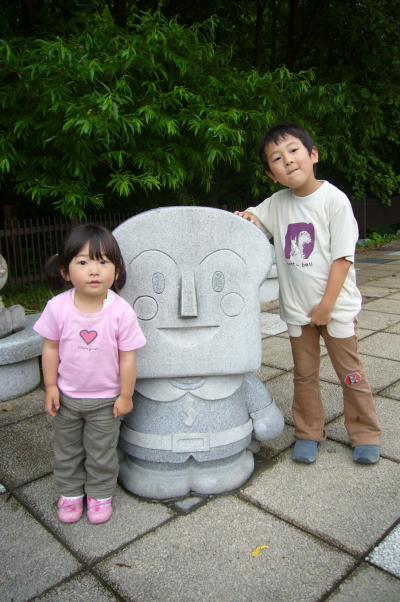 北海道、美瑛・富良野旅行記2008 第4日目、アンパンマンショップ、チーズ工房など