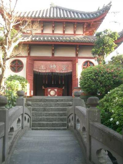 唐人屋敷跡と中華街に華風文化の足跡を見る