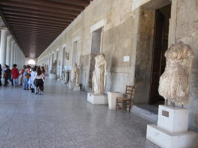 アテネ!4(ギリシャ2日目古代アゴラ)