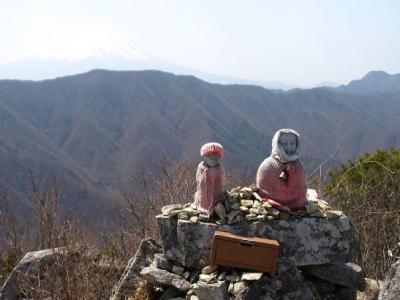 御坂・釈迦ヶ岳から上芦川へ