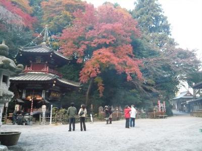 【群馬を楽しもう!】?水澤観音の紅葉
